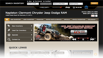 Napleton Chrysler Dodge Jeep RAM Orlando Clermont Kissimmee